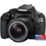 Aparat foto DSLR Canon EOS 1200D